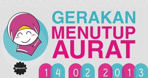 Are you ready for the campaign of Gerakan Menutup Aurat #GEMAR 14 Februari 2013 ?