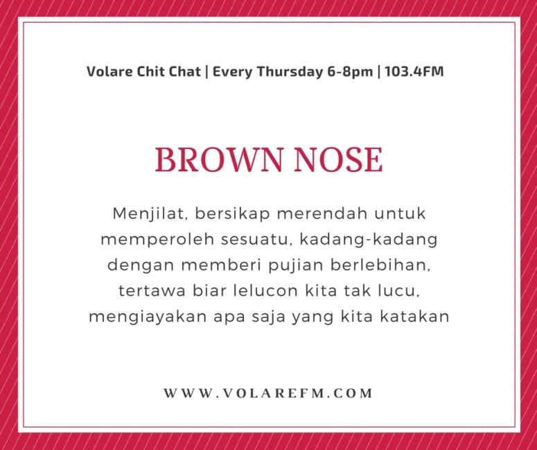 brown-nose